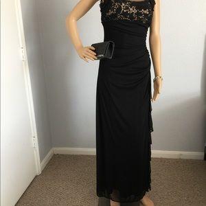 Black Elegant Evening Gown